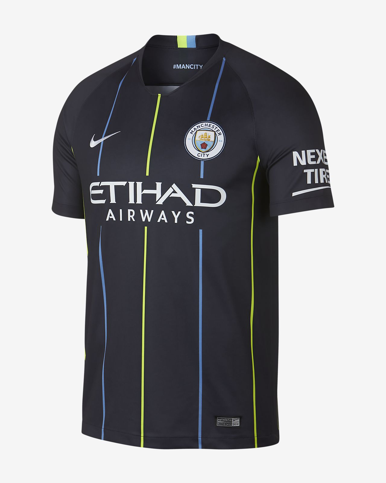 Pánský fotbalový dres 2018/19 Manchester City FC Stadium Away