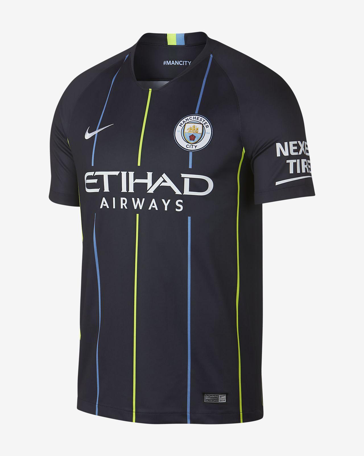 Maillot de football 2018/19 Manchester City FC Stadium Away pour Homme