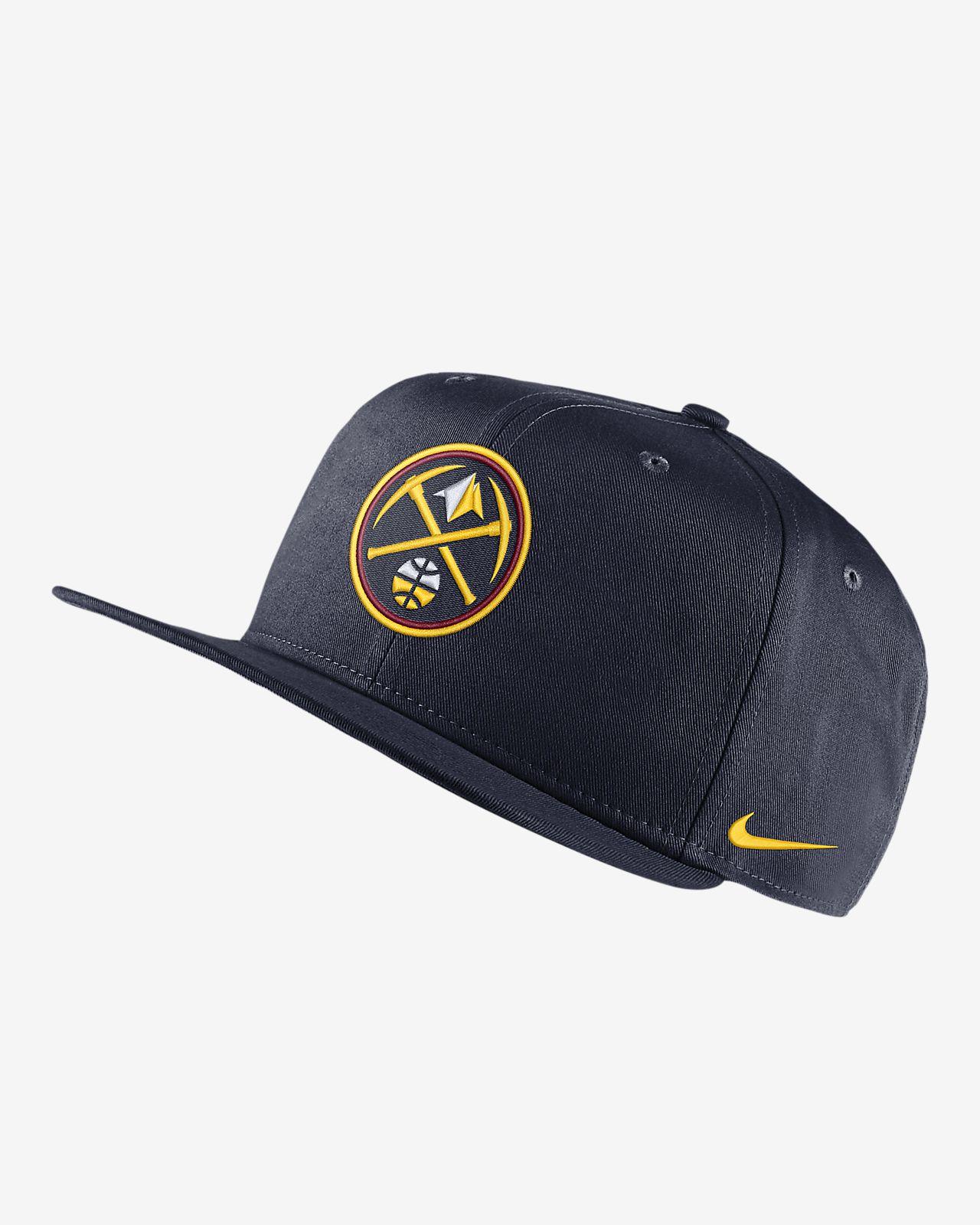 Бейсболка НБА Denver Nuggets Nike Pro