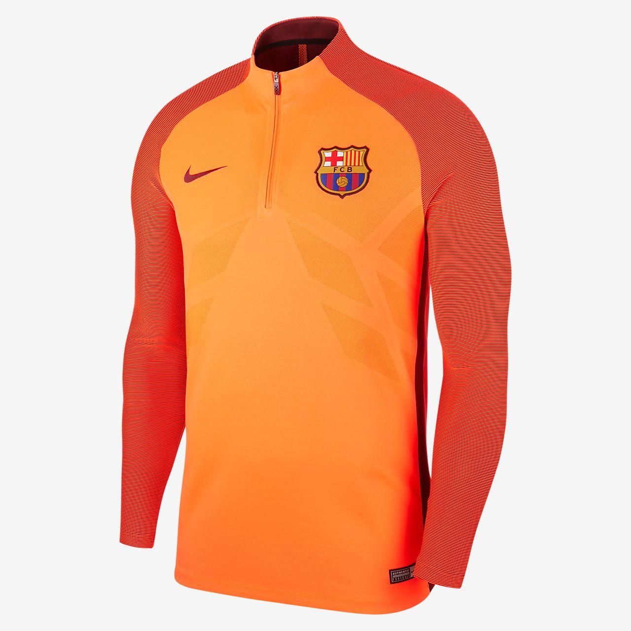 ... FC Barcelona AeroSwift Strike Drill Men's Football Top