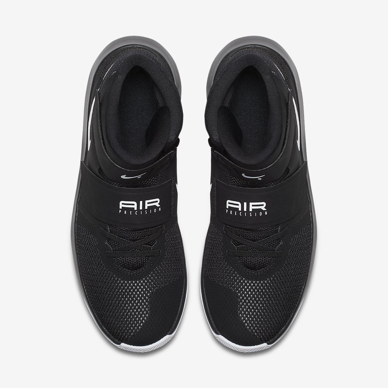 4a010978046 ... white pure platinum black  nike air precision flyease mens basketball  shoe