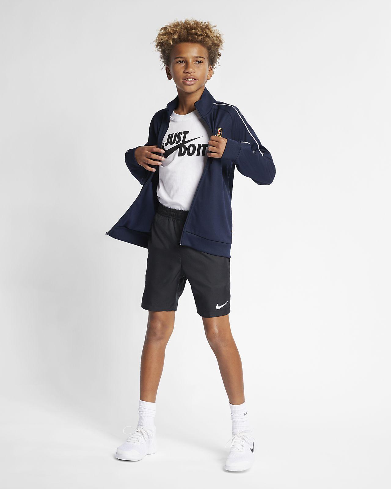 Veste de survêtement de tennis NikeCourt pour Garçon