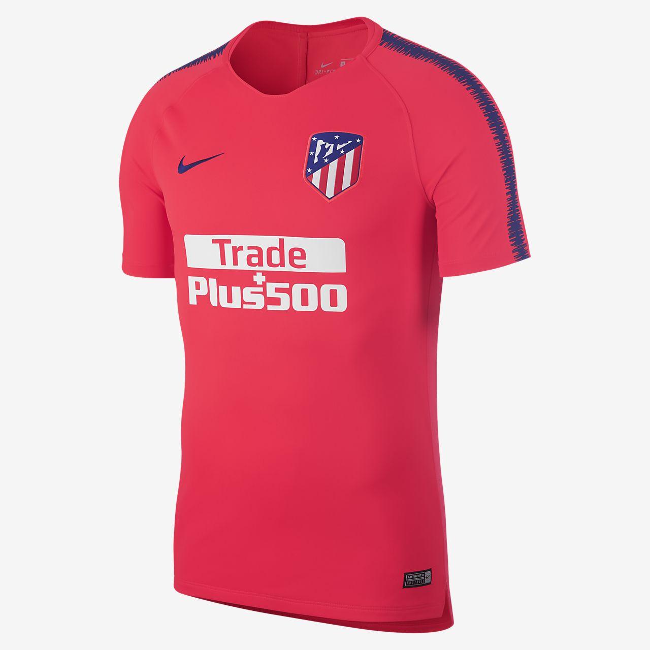 Top de fútbol para hombre Atletico de Madrid Breathe Squad
