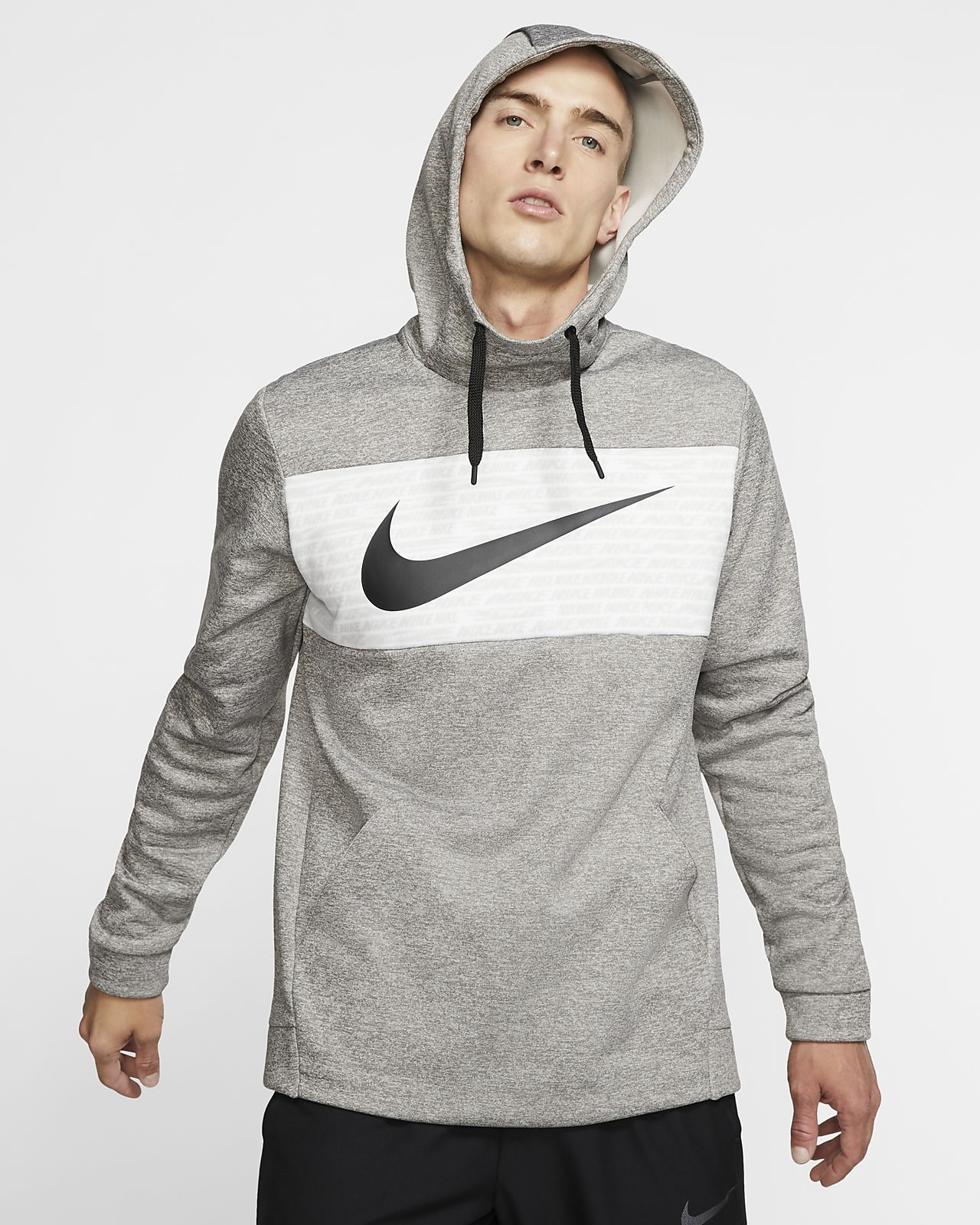 Nike Therma Trainingshoodie van fleece voor heren