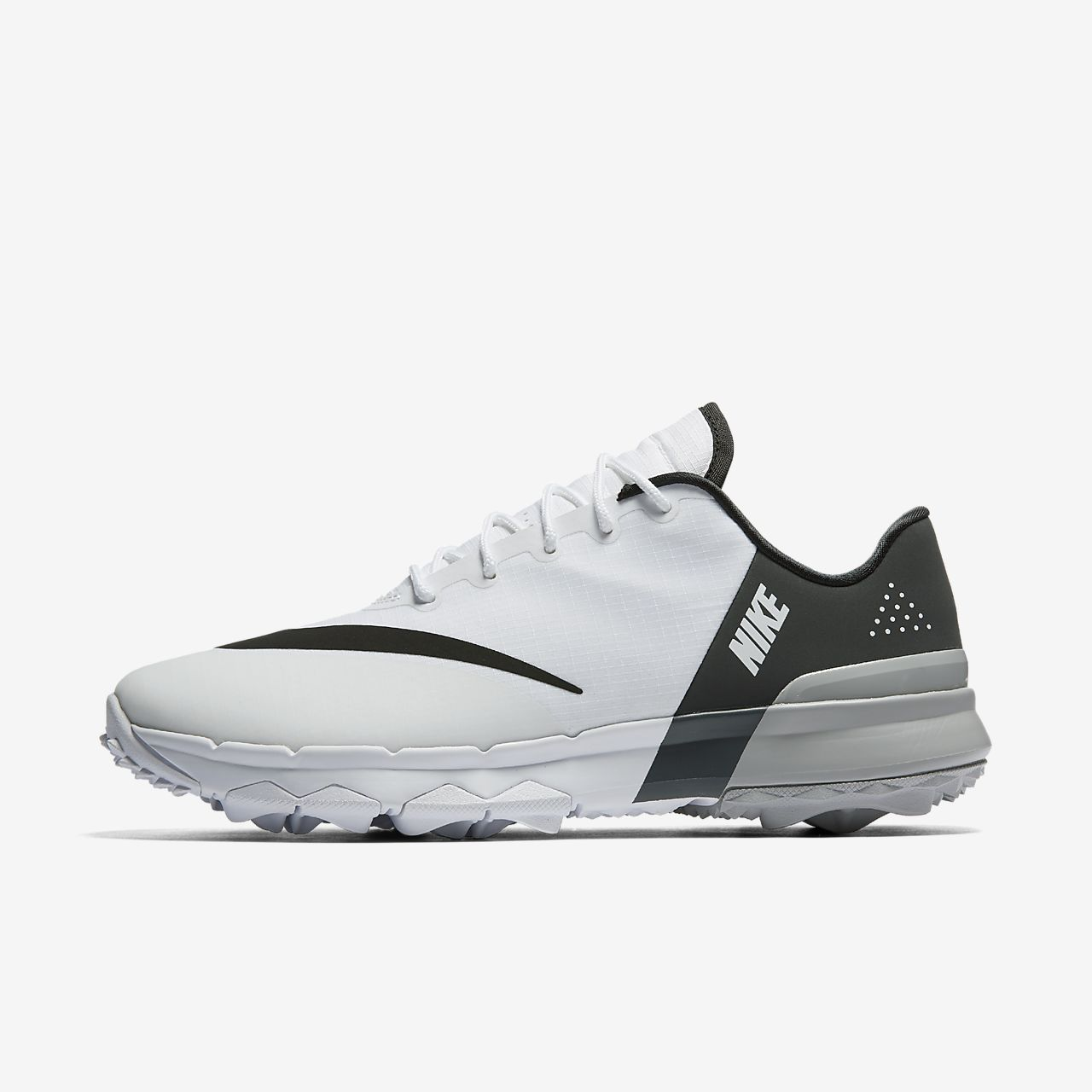 Nike FI Flex Mens Golf Shoe Black/White-Anthracite 12