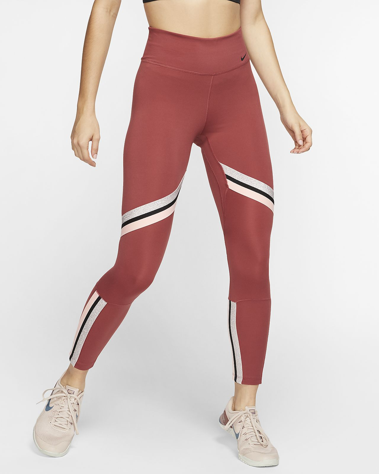 Tights a 7/8 Nike One Icon Clash para mulher