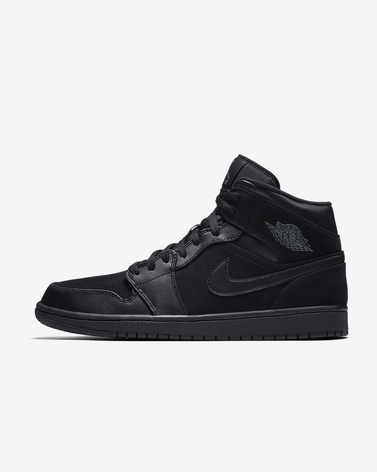 air jordan mid 1 nere