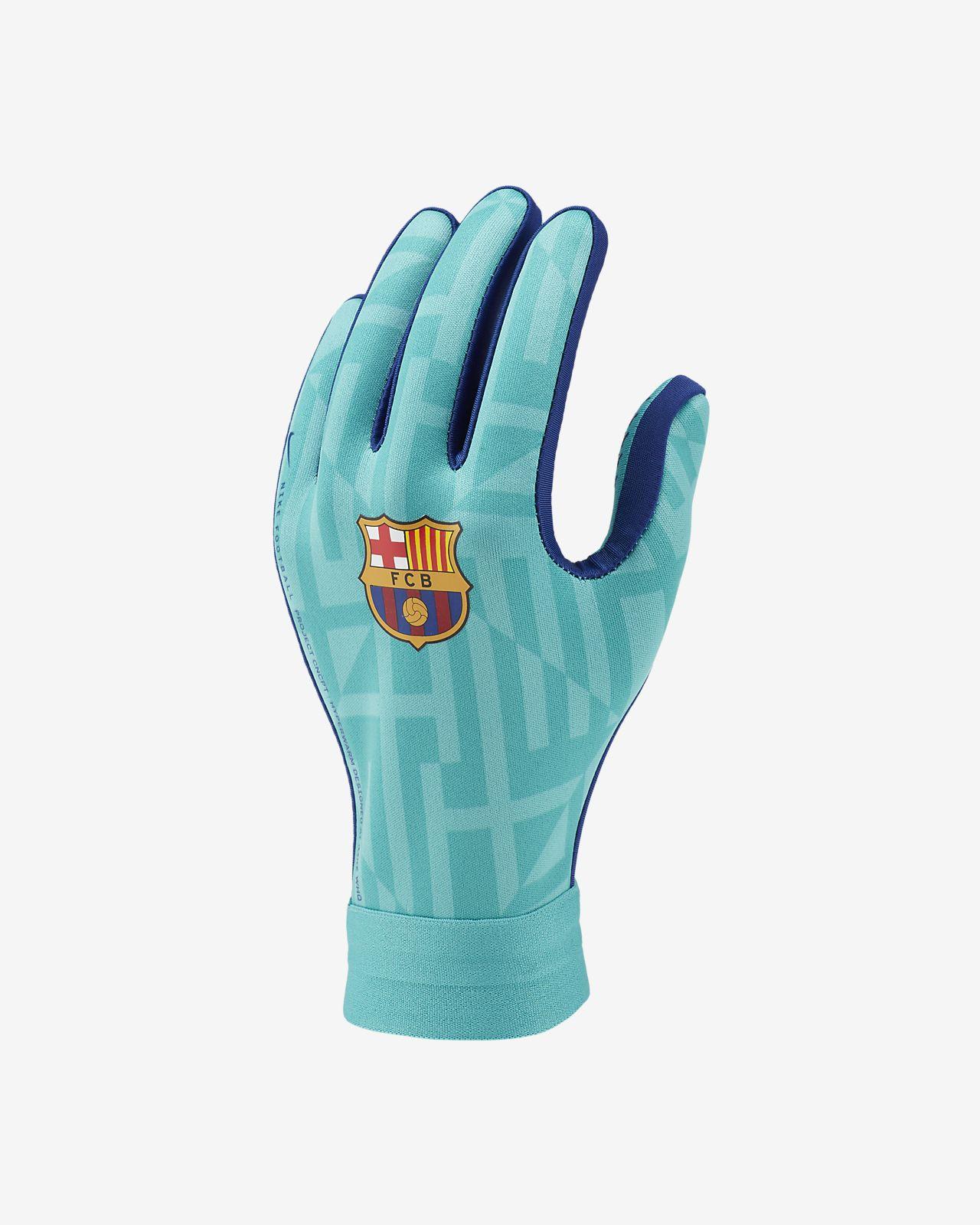 FC Barcelona HyperWarm Academy Older Kids' Football Gloves