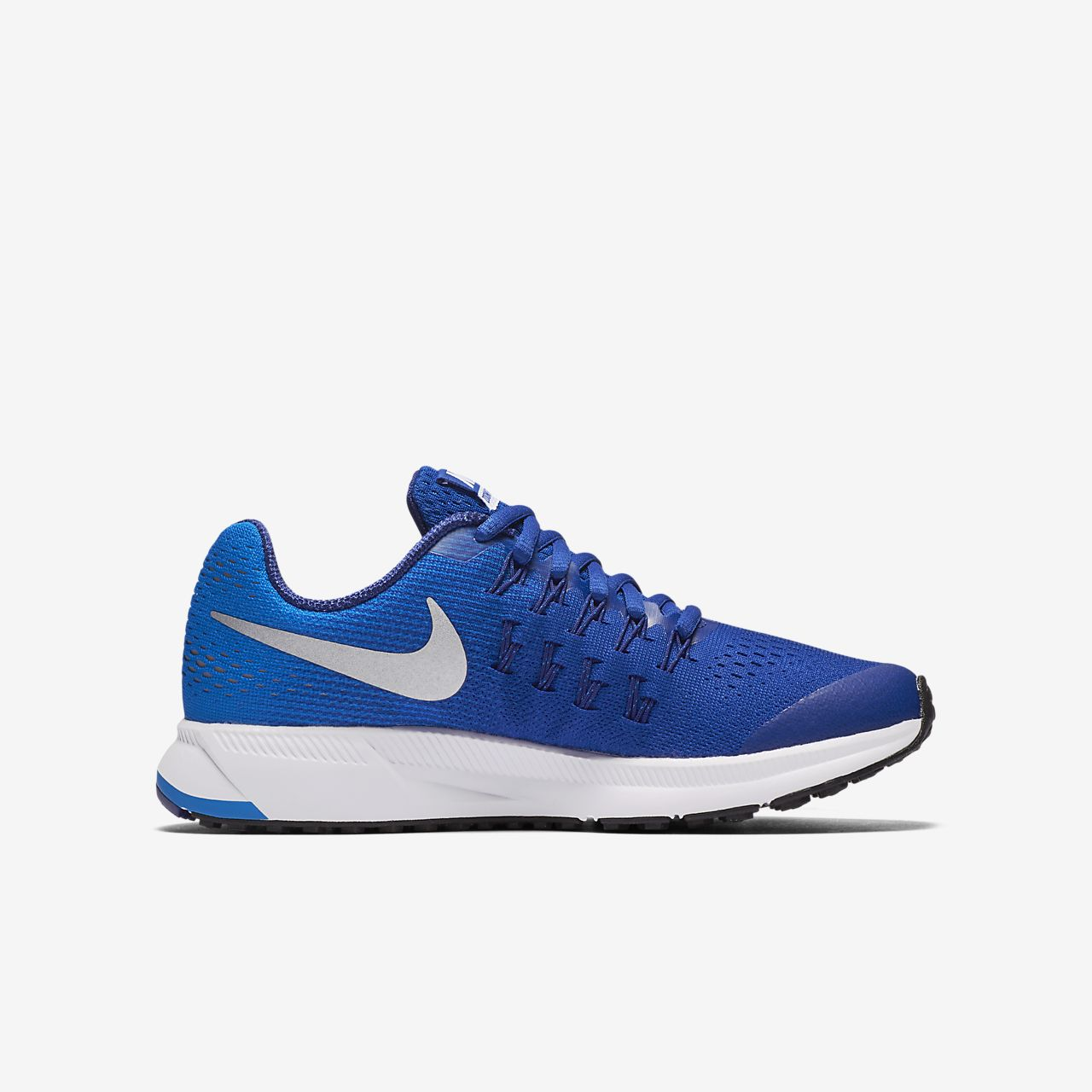 ae1a519d6b06 ... royal blue green white 831356 410 mens trail running shoes  nike air  zoom pegasus 33 older kids running shoe