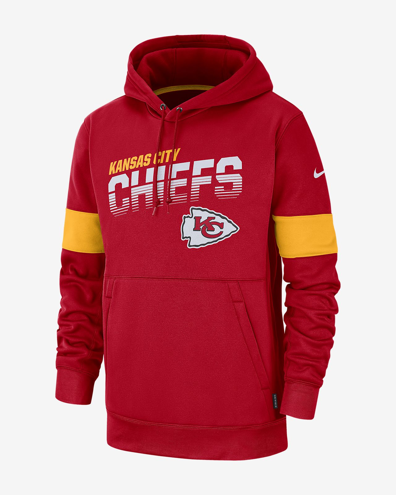 cheap for discount c81ce 22a3c Nike Therma (NFL Chiefs) Men's Hoodie