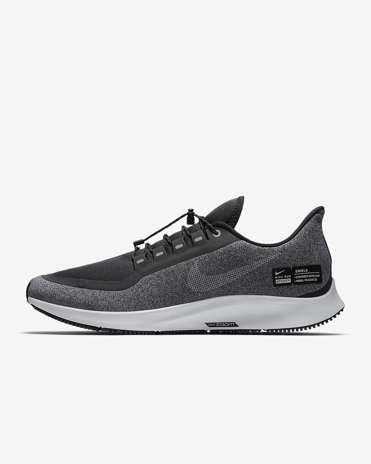 online store 82283 ae375 ... Nike Air Zoom Pegasus 35 Shield Water-Repellent Mens Running Shoe