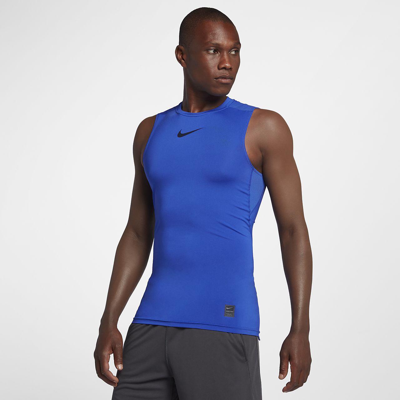 ... Nike Pro Camiseta de entrenamiento sin mangas - Hombre