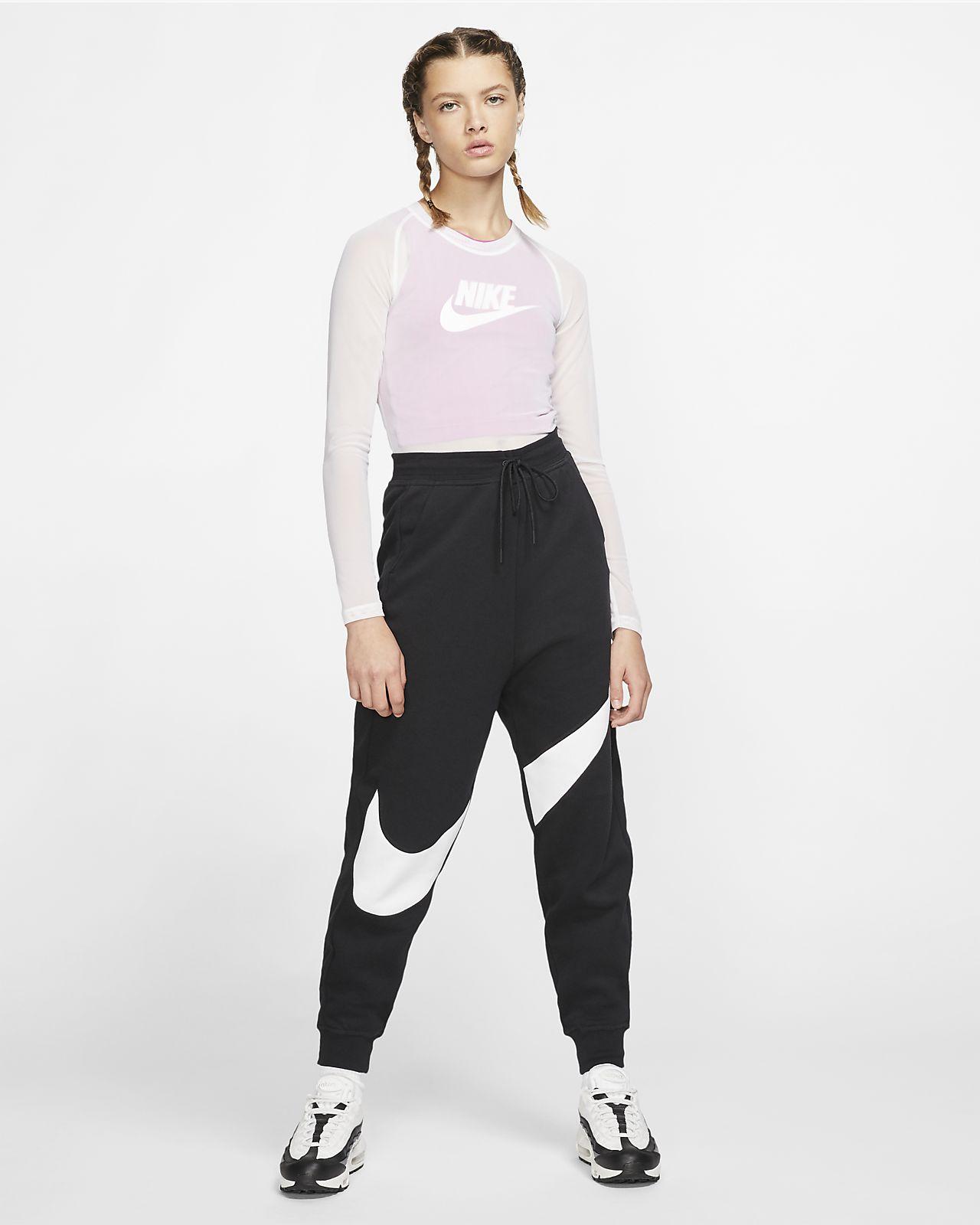 Damen Swoosh Sportswear Nike Nike Fleecehose Swoosh Damen Fleecehose Nike Damen Sportswear Sportswear Swoosh CxBeoWQrd