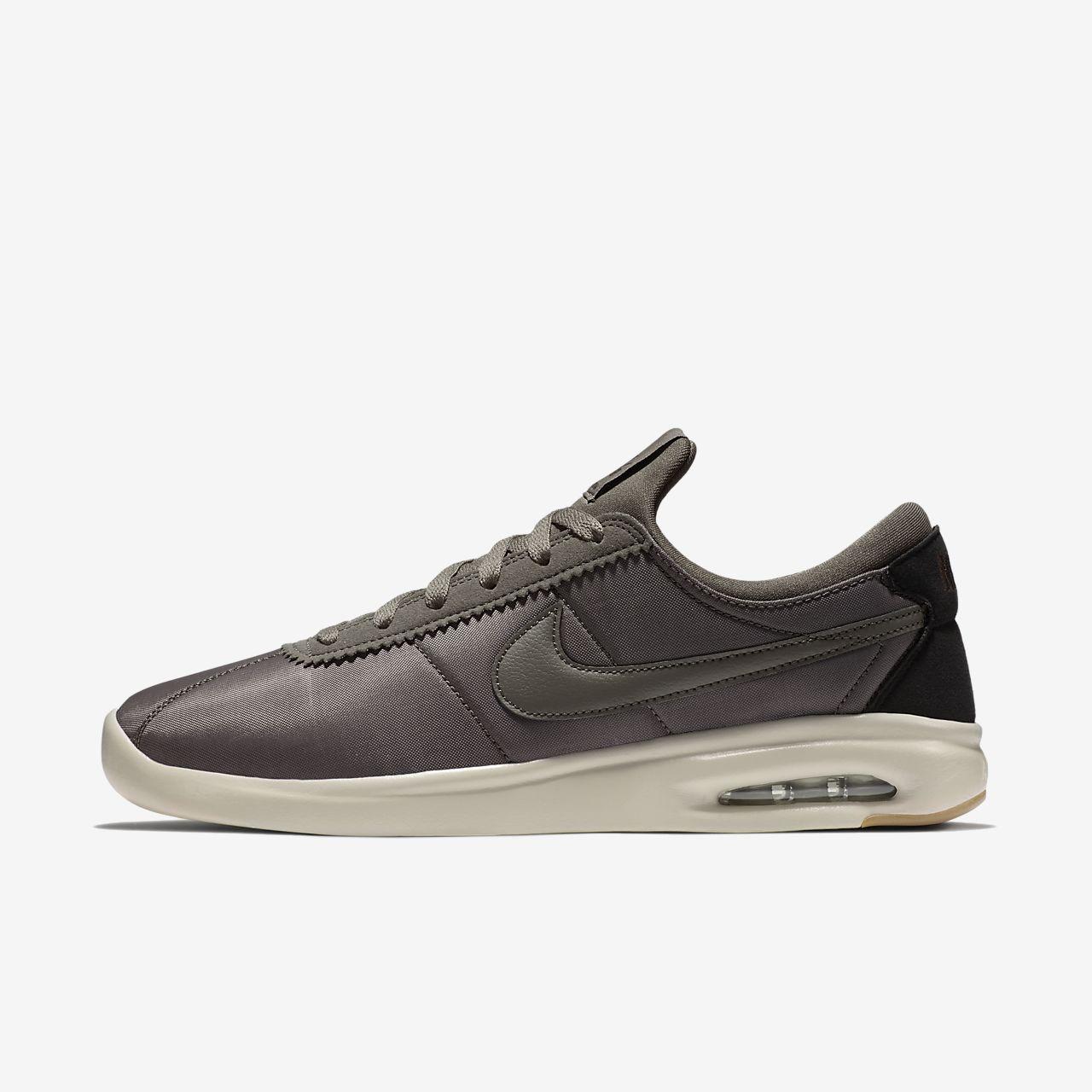 Nike SB Air Max Bruin Vapor Boys Skateboarding Shoes Brown vS7280S