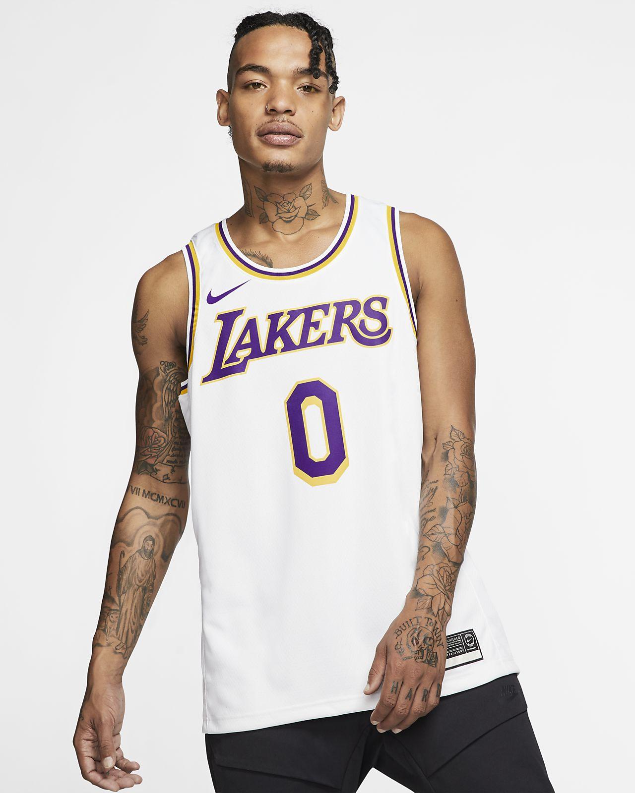 check out d9d4e afbdb Kyle Kuzma Association Edition Swingman (Los Angeles Lakers) Men's Nike NBA  Connected Jersey