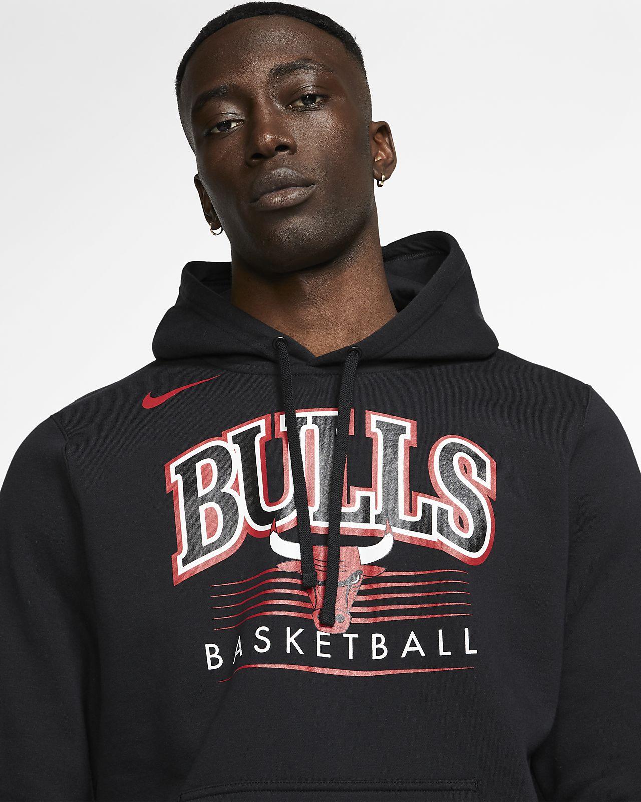 nuovo concetto da7eb 265f1 Felpa Chicago Bulls con cappuccio Nike NBA - Uomo