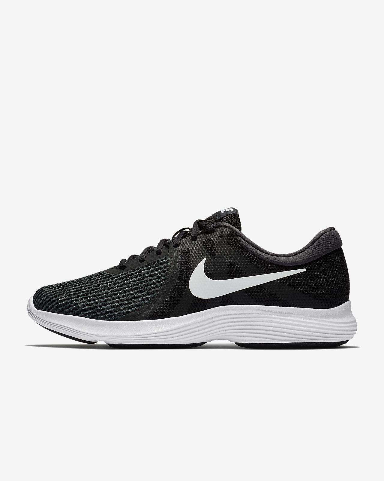 Scarpe Nike Revolution 4 nero bianco donna