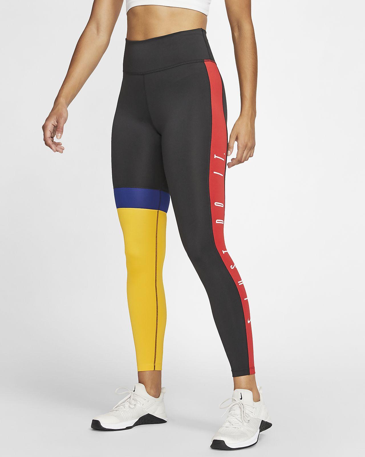 Tights Nike One i 7/8-längd för kvinnor
