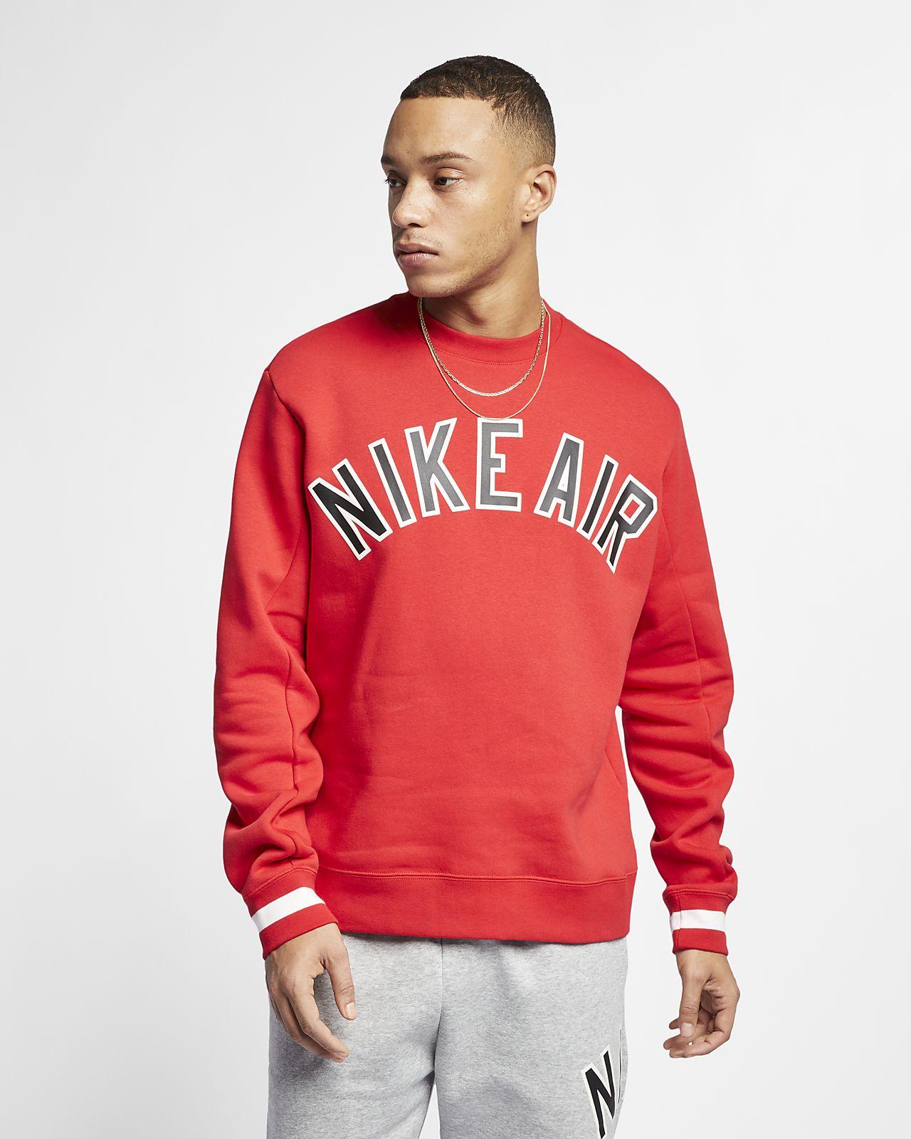 Ανδρική φλις μπλούζα Nike Air