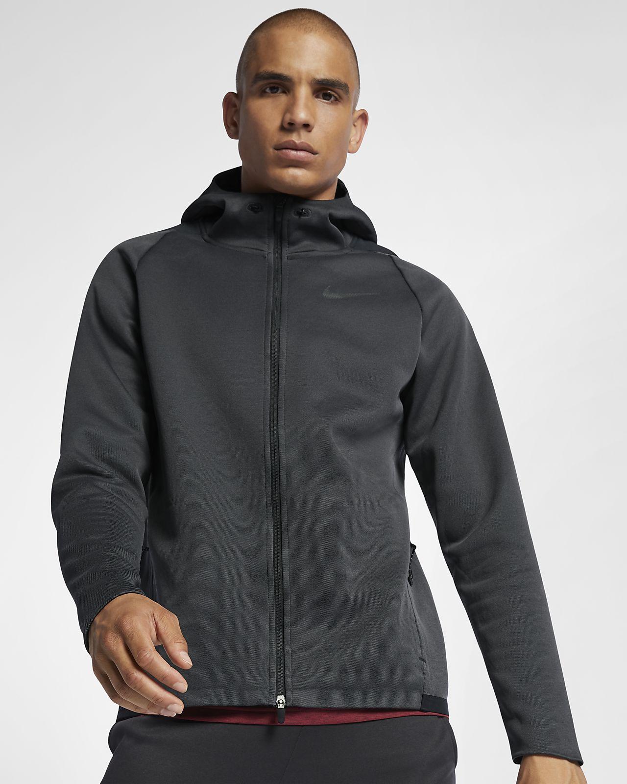ナイキ サーマ スフィア マックス メンズ フーデッド フルジップ トレーニングジャケット