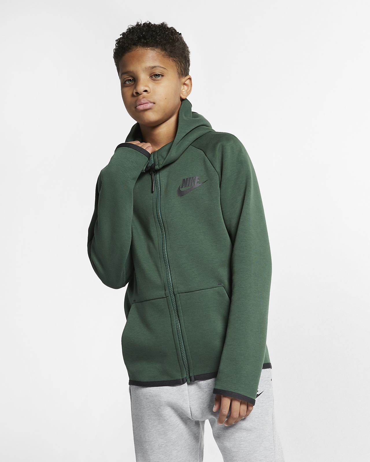 e3884b18a90d Nike Sportswear Tech Fleece Big Kids  Full-Zip Jacket. Nike.com