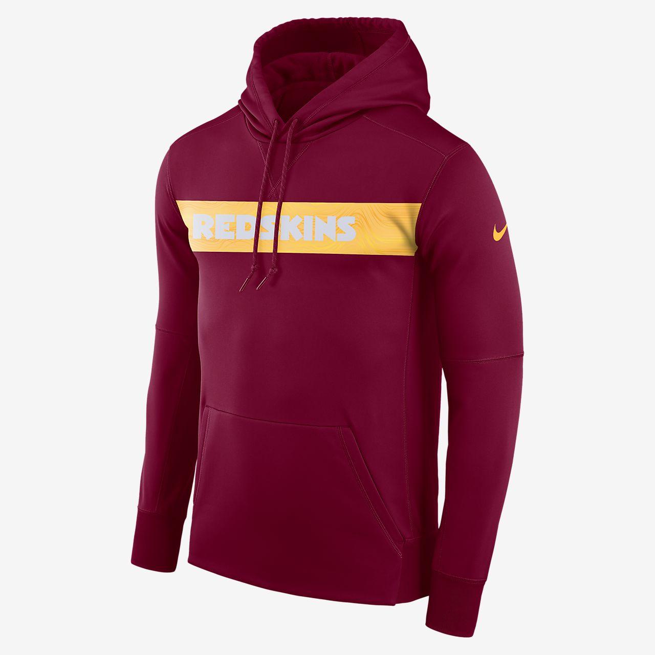 Sudadera con capucha sin cierre para hombre Nike Dri-FIT Therma (NFL  Redskins) 8c0d5a0f68dfb