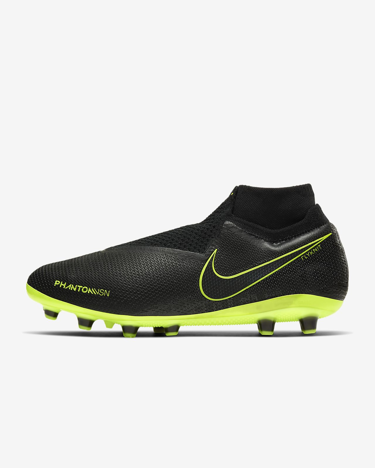 Chaussure de football à crampons pour terrain synthétique Nike Phantom Vision Elite Dynamic Fit