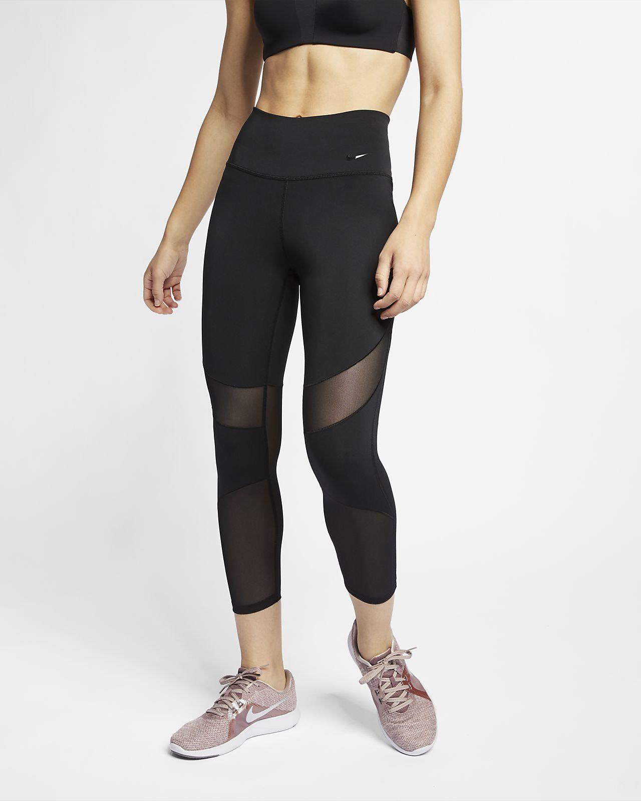 Женские укороченные тайтсы Nike Fly