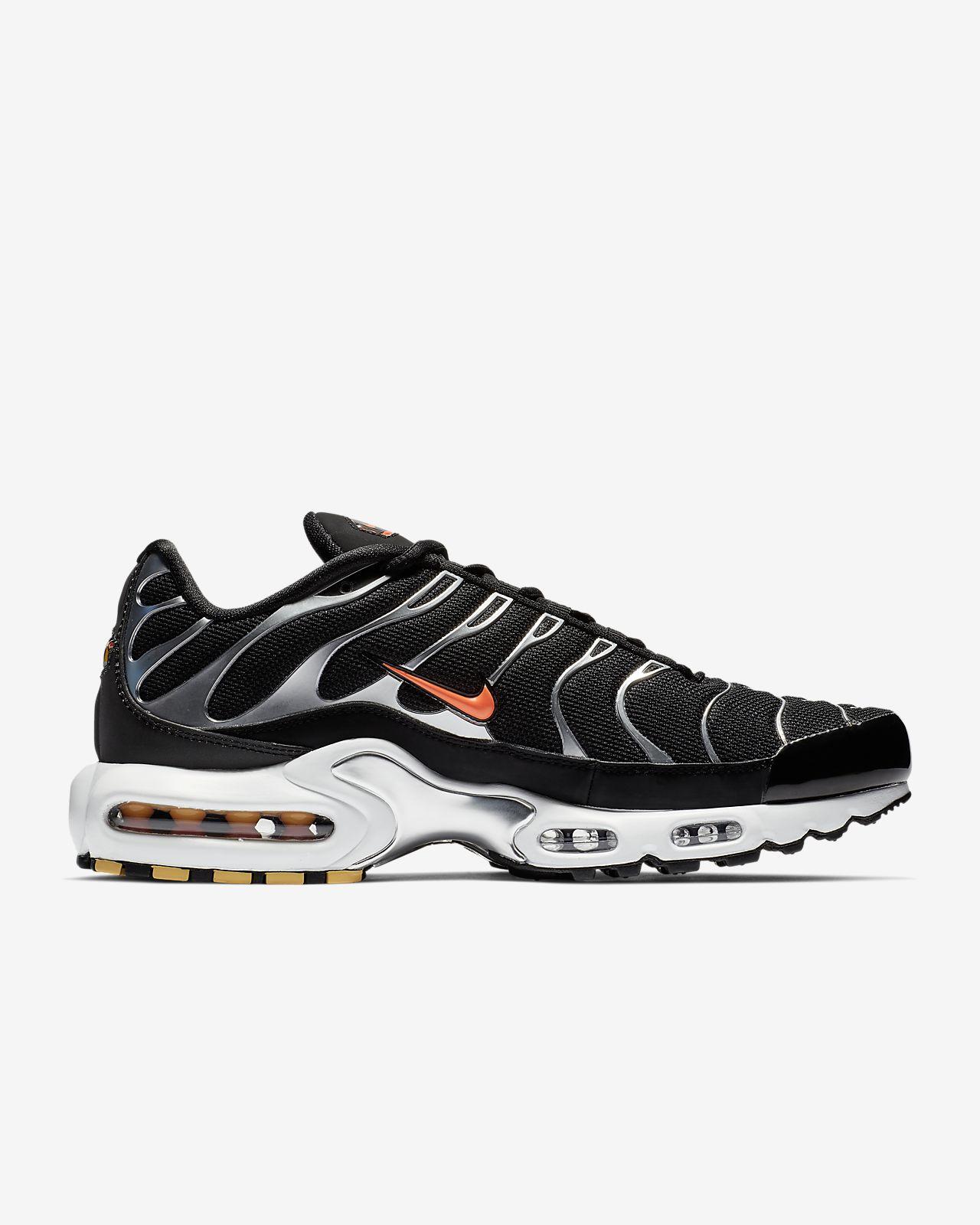 Nike AIR MAX PLUS Sort Hvid 852630 Rezet Store