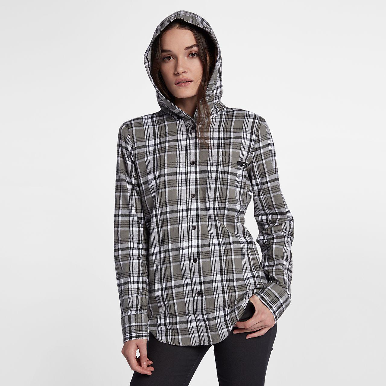 Hurley Wilson Hooded Women's Long Sleeve Shirt . Nike.com