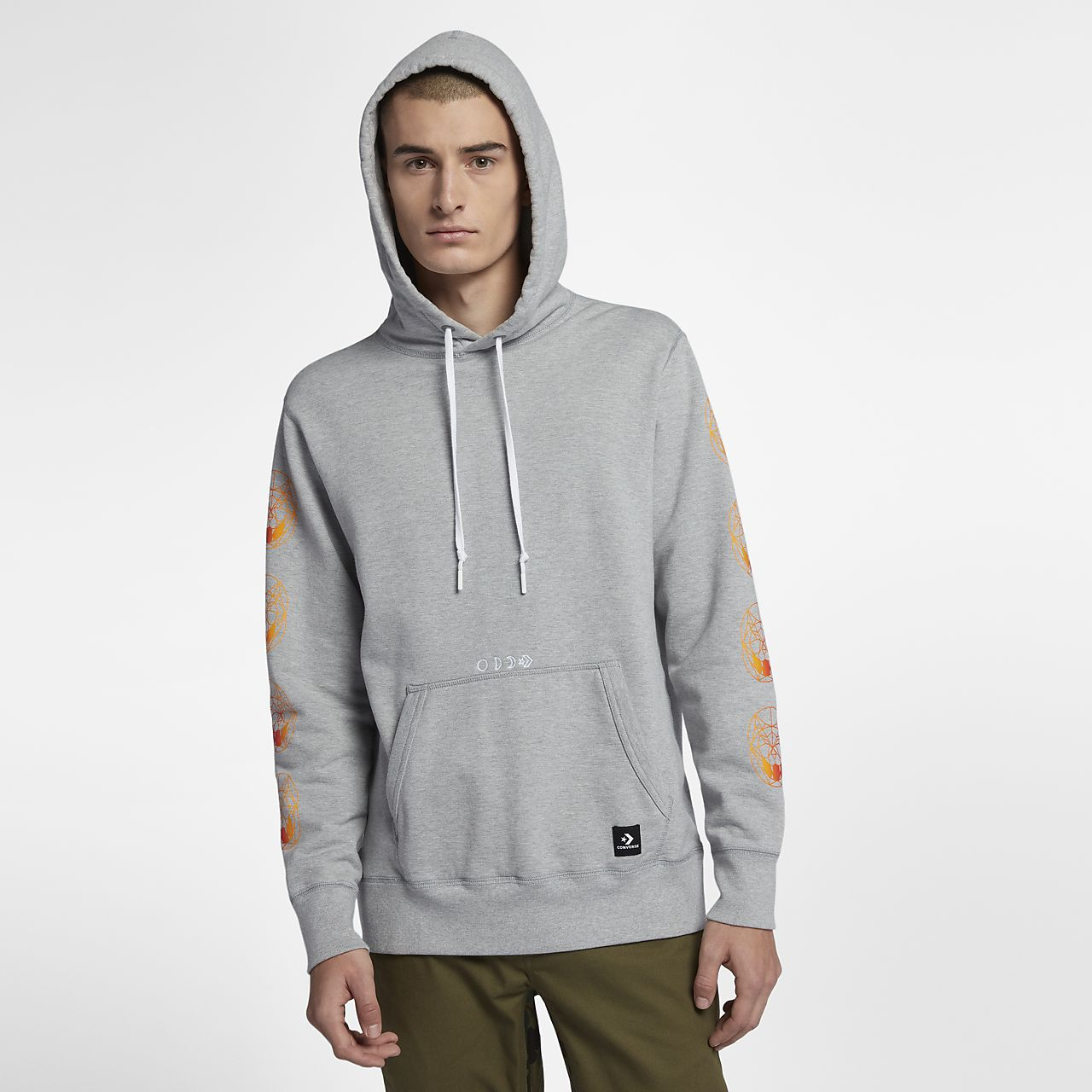 converse grey sweatshirt