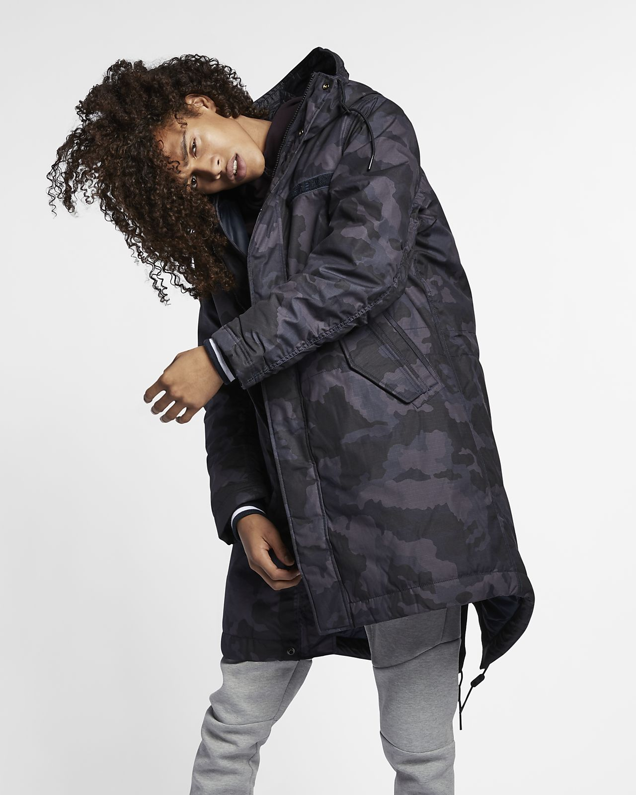 Nike Sportswear NSW Herrenparka mit Synthetikfüllung