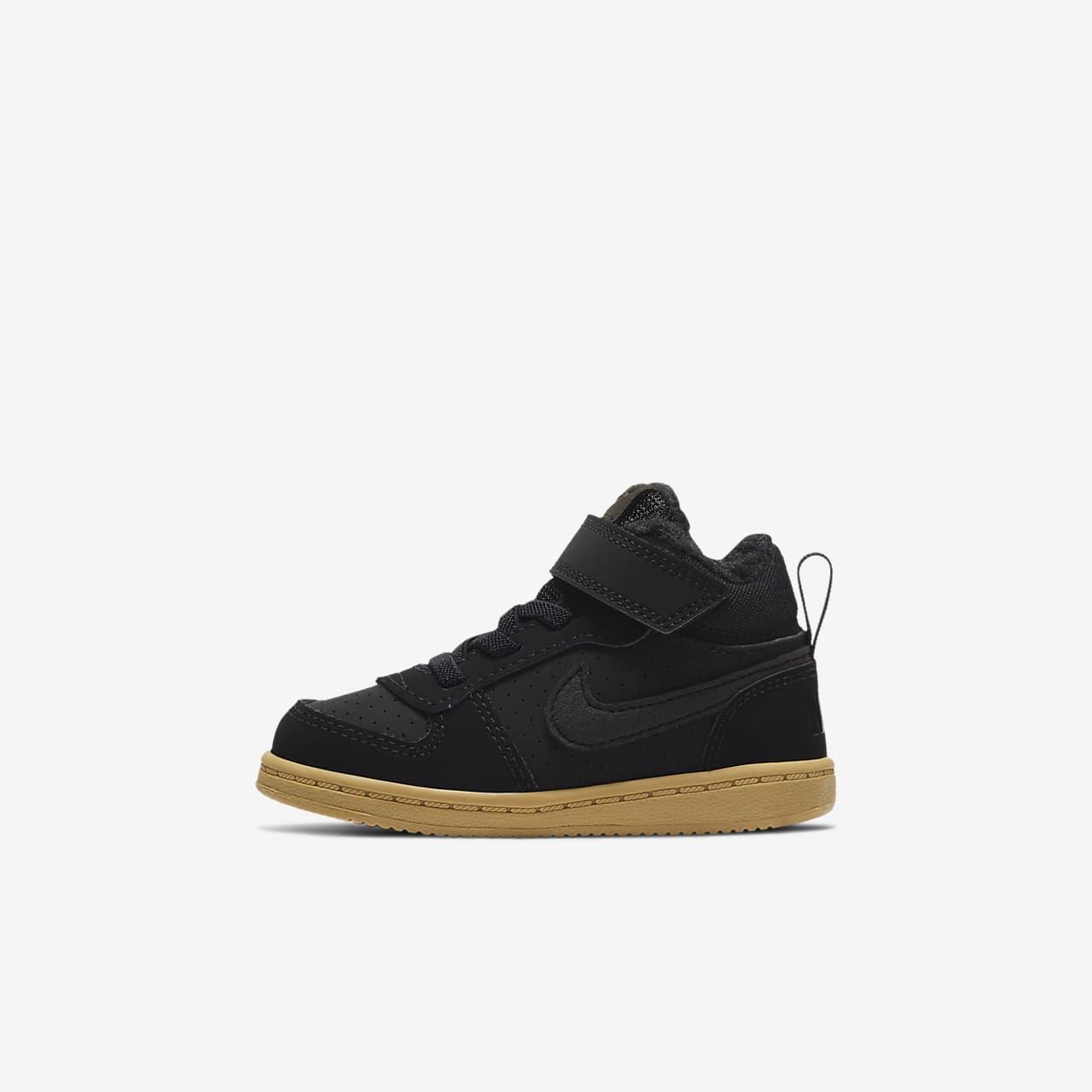big sale 3a5ac 22164 Nike Court Borough Mid Winter-sko til babyer/småbørn. Nike.com DK