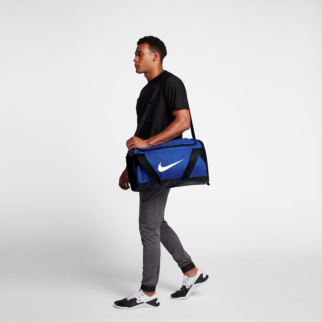 Bolso de lona de entrenamiento Nike Brasilia (pequeño). Nike.com CL 2ecd86631a271