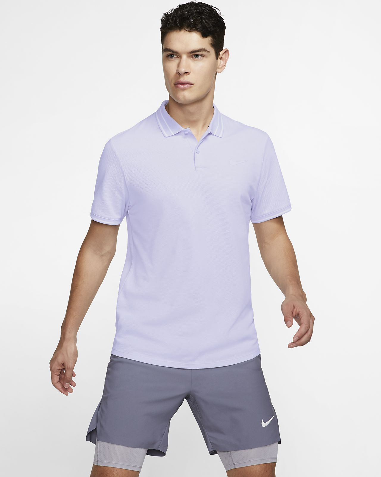 Polo de tennis NikeCourt Advantage pour Homme