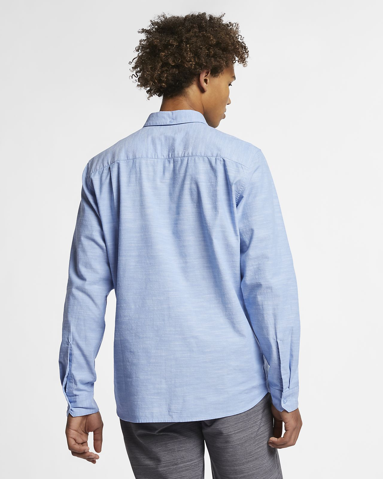 5fb566f010 Hurley One And Only Men's Long-Sleeve Shirt