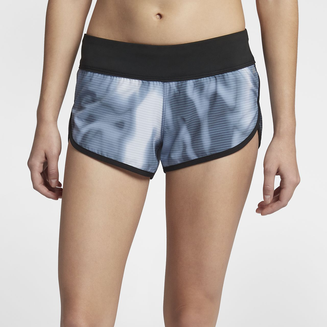 Shorts de playa de 6,5 cm para mujer Hurley Phantom Waves Beachrider