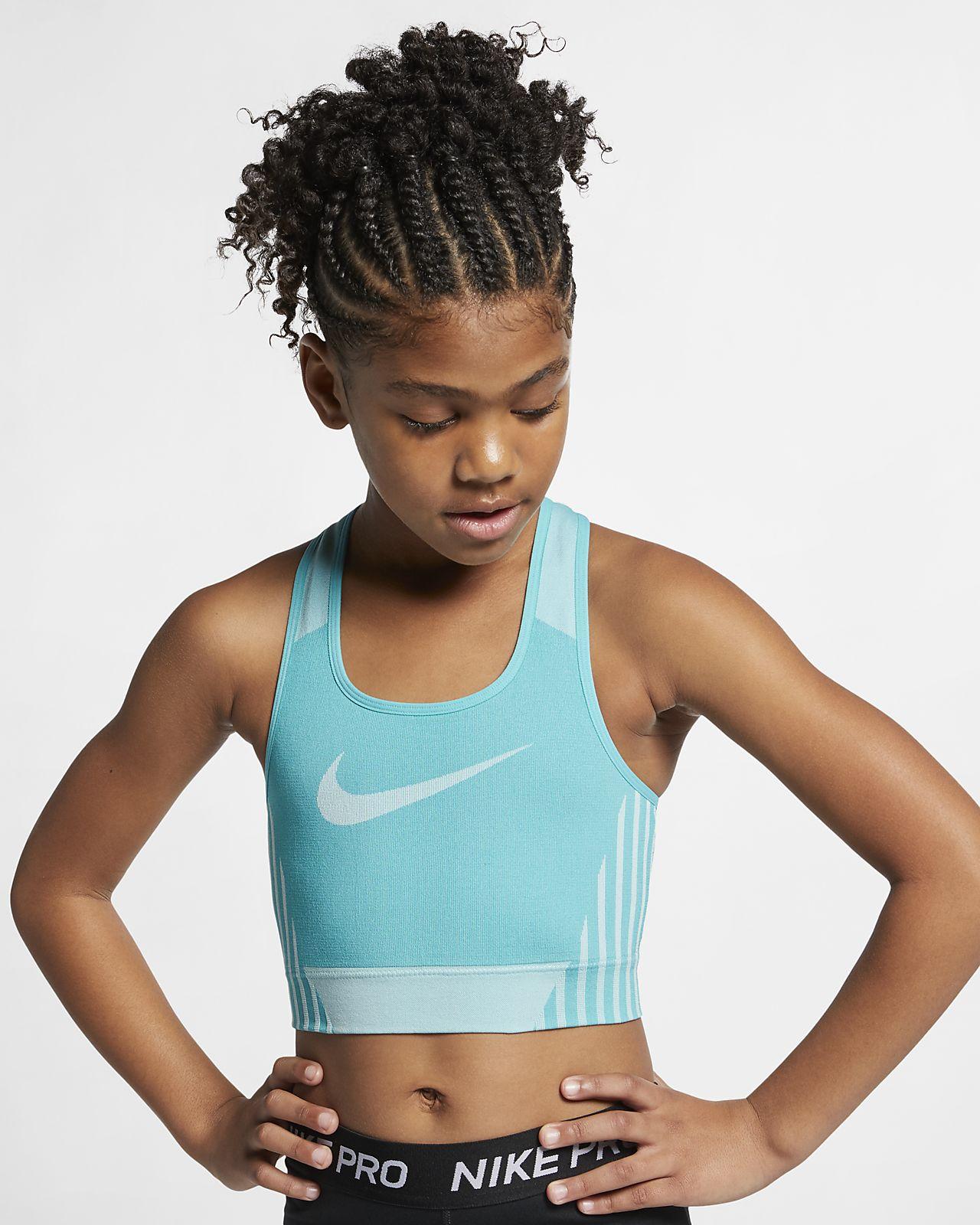 Nike FE/NOM Sculpt BH til jente