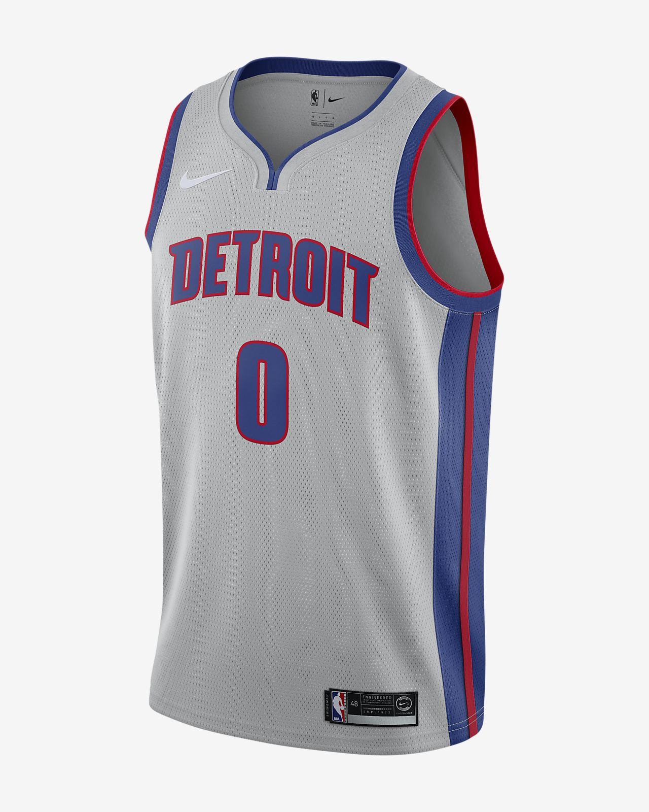 Andre Drummond Statement Edition Swingman (Detroit Pistons) Men's Nike NBA Connected Jersey