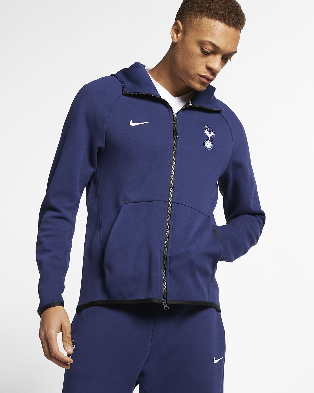 Tottenham Hotspur Tech Fleece Men's Full-Zip Hoodie