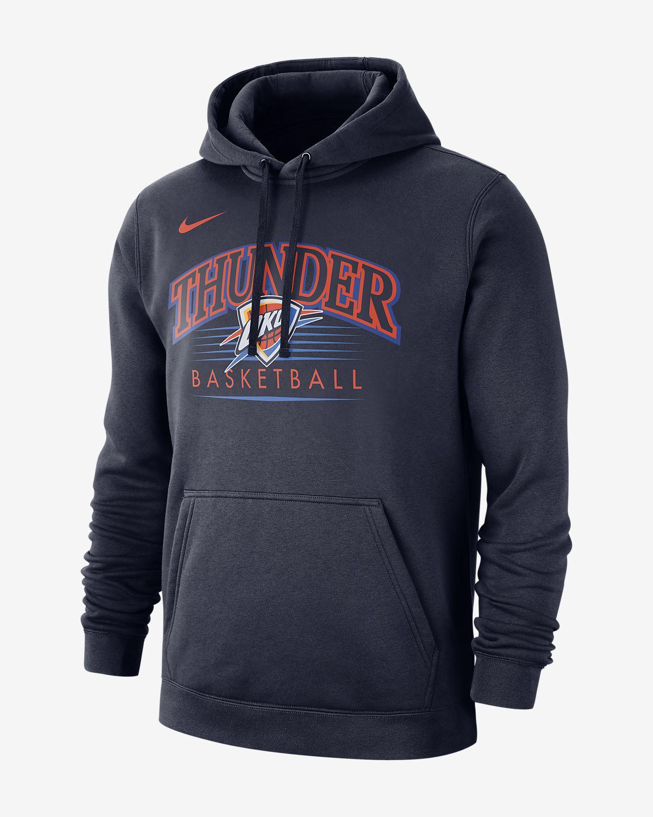 NBA-huvtröja Oklahoma City Thunder Nike för män