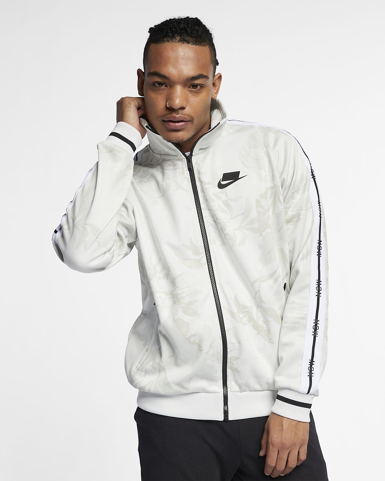 """Casaco de treino com gola dobrável Nike Sportswear NSW """"Palm Tree"""" para homem"""