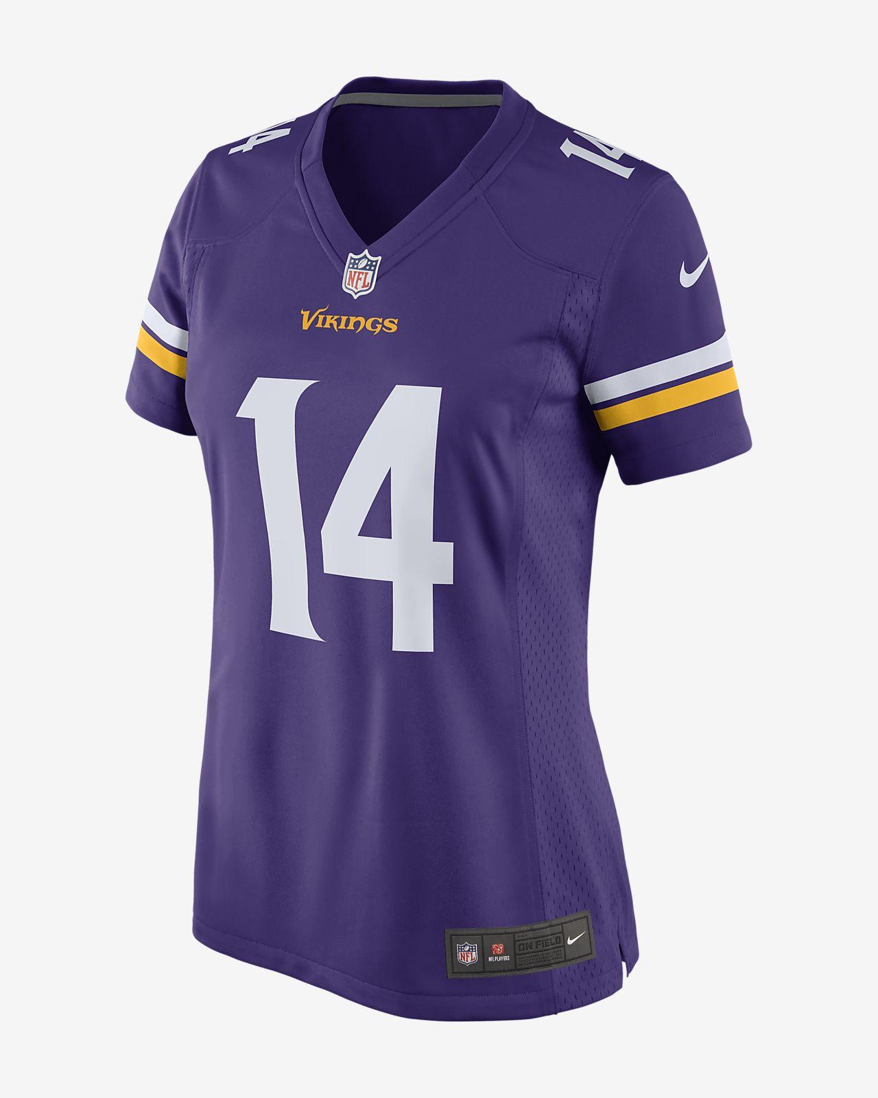 6dbdf7c0f NFL Minnesota Vikings Game (Stefon Diggs) Women s Football Jersey ...