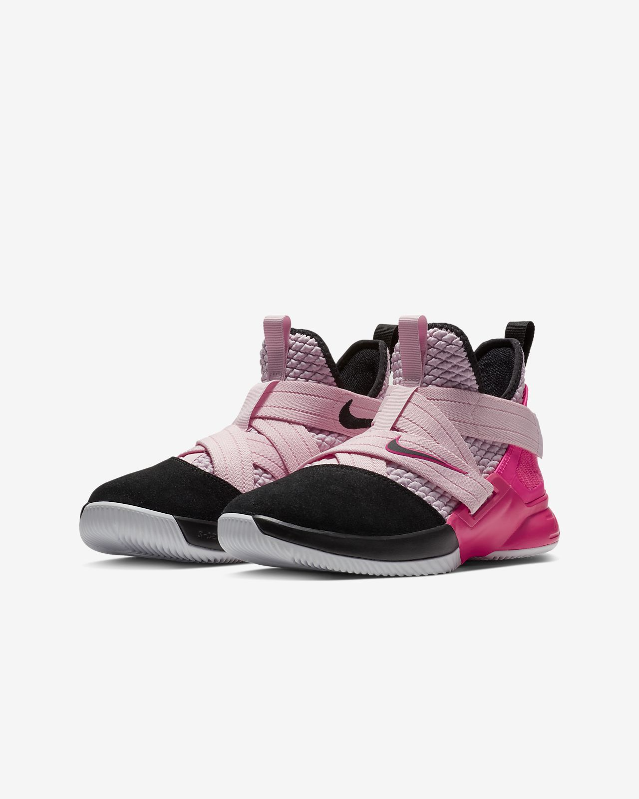 a248a8c76403 LeBron Soldier XII Big Kids  Basketball Shoe. Nike.com
