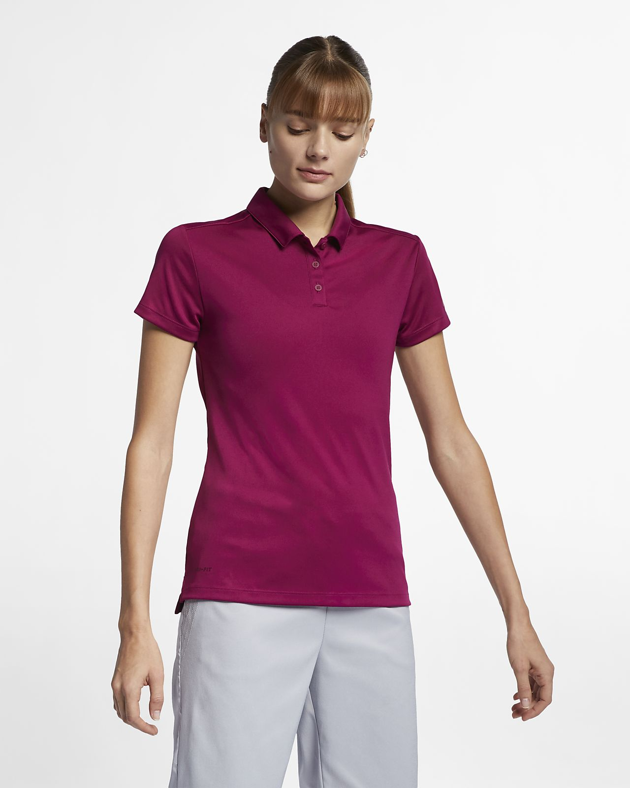 5ab704d8 Nike Dri-FIT Women's Golf Polo. Nike.com IE