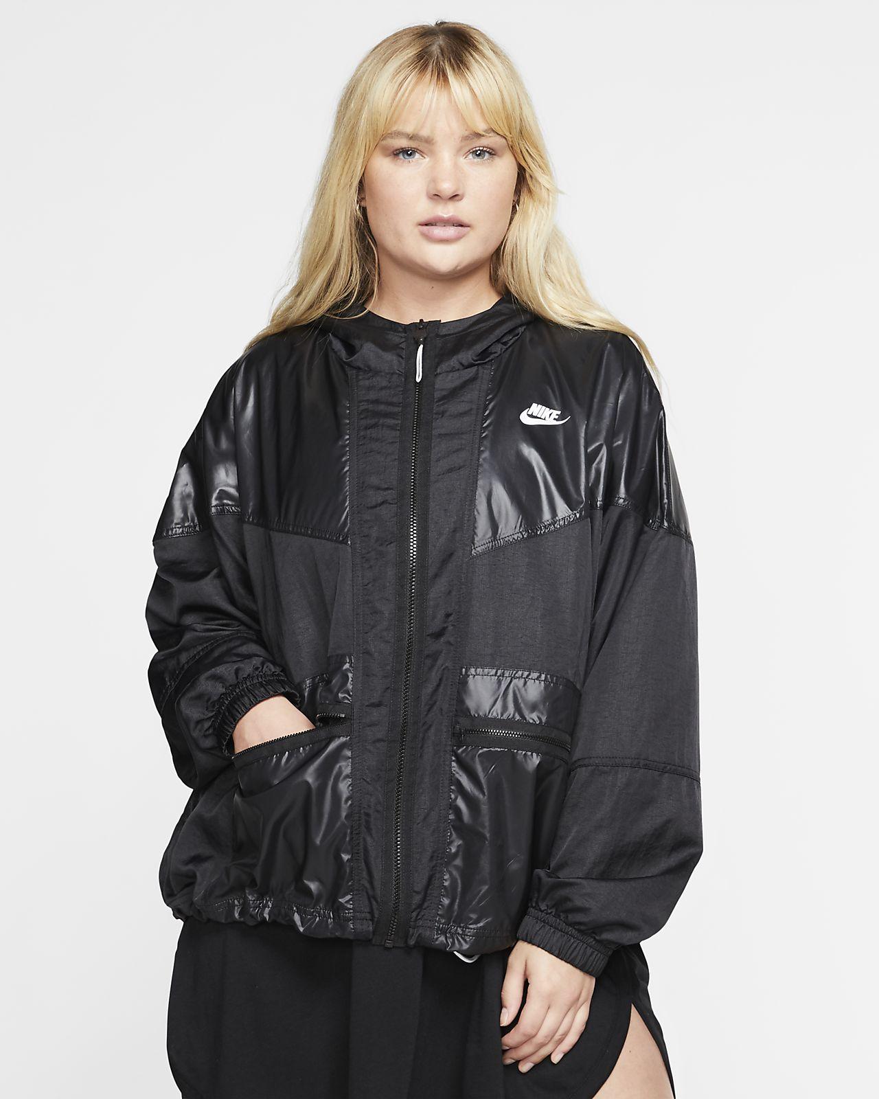 Женская куртка карго Nike Sportswear Windrunner (большие размеры)