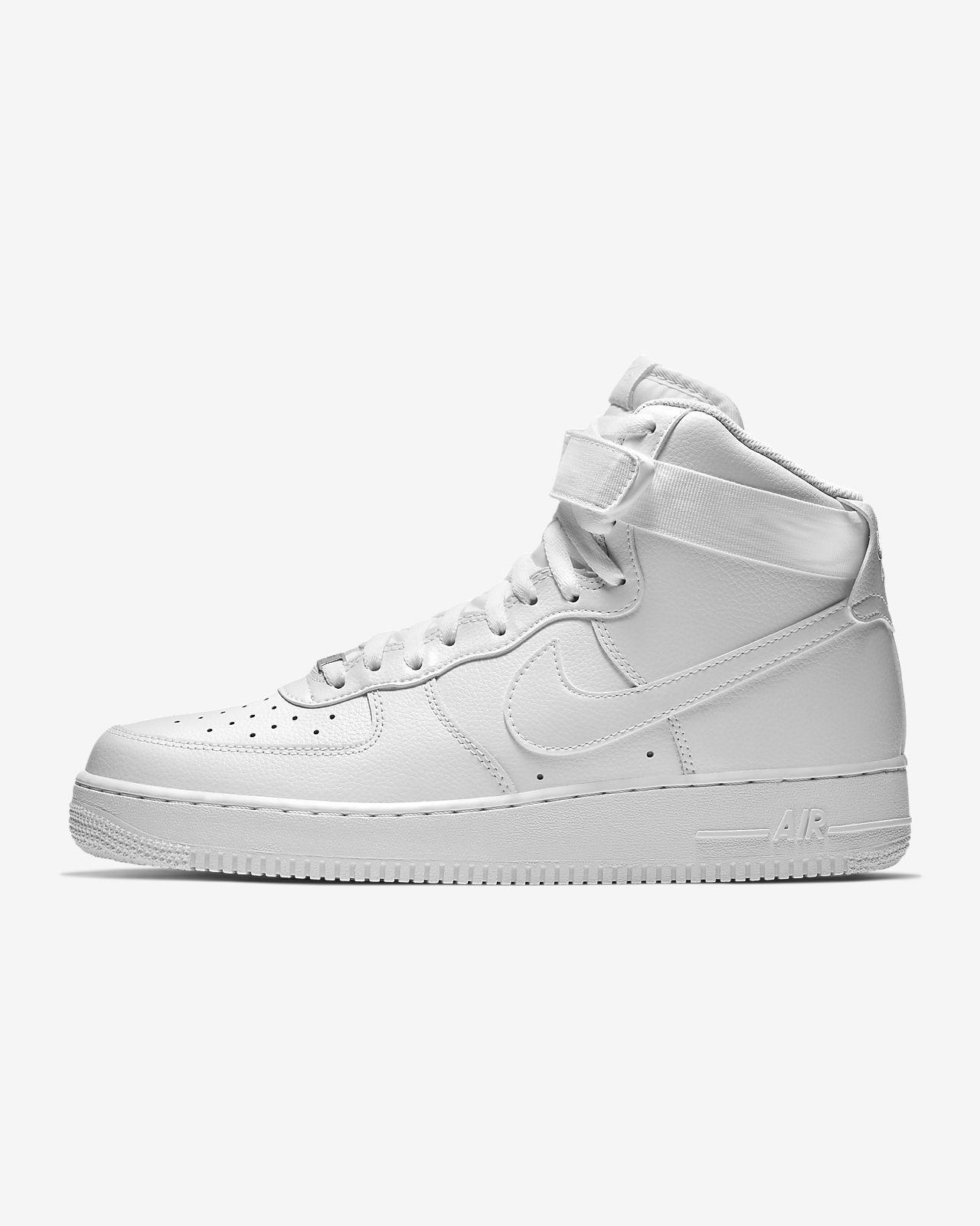 air force 1 high top white