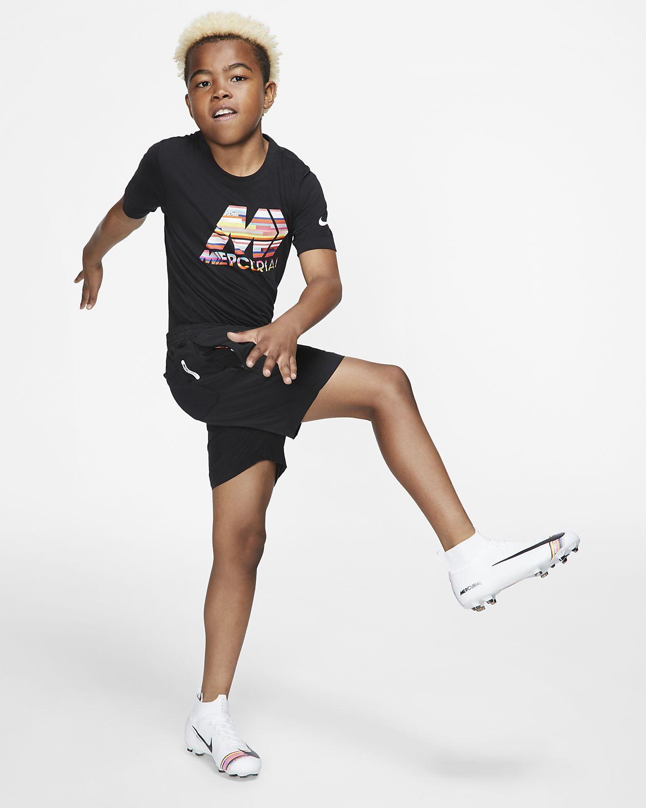 2d892802caa Nike Dri-FIT Mercurial Big Kids  Soccer Shorts. Nike.com
