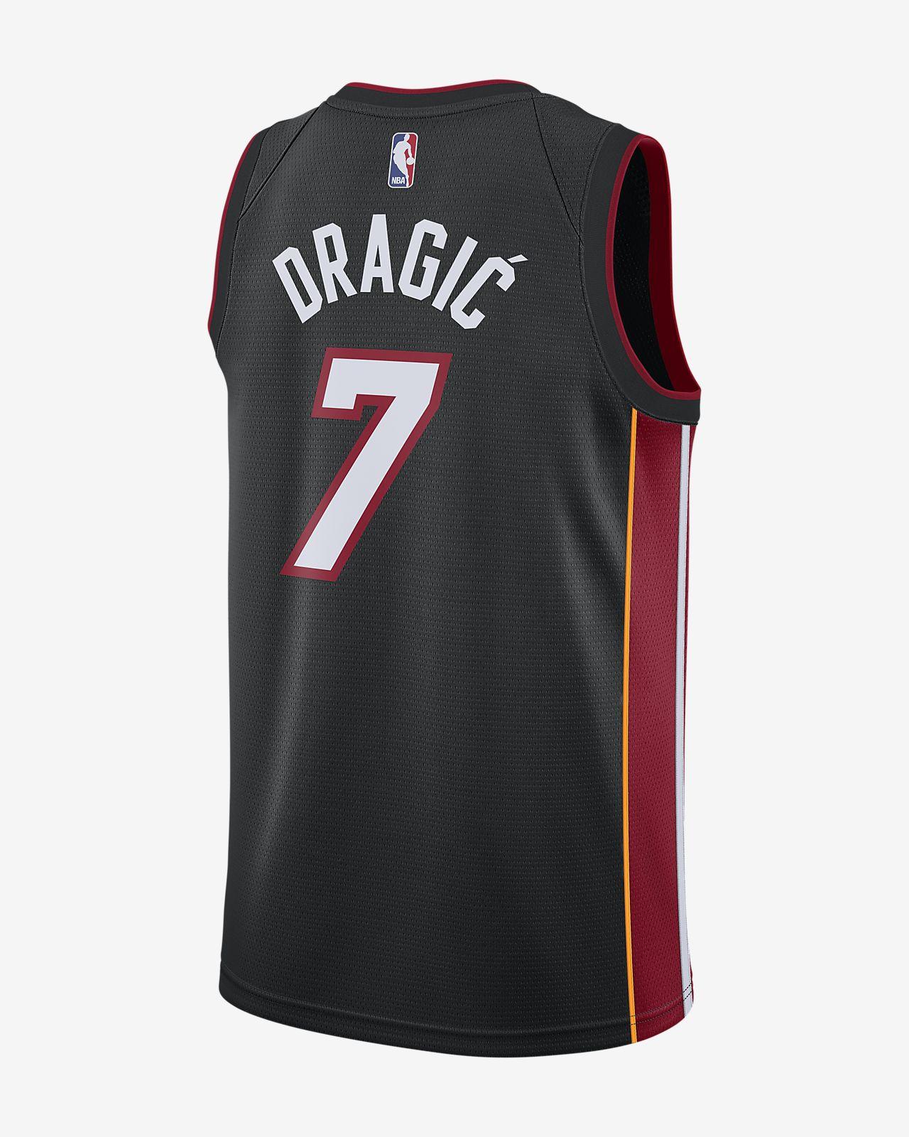 ... Goran Dragić Icon Edition Swingman (Miami Heat) Men s Nike NBA  Connected Jersey ab4b8f002