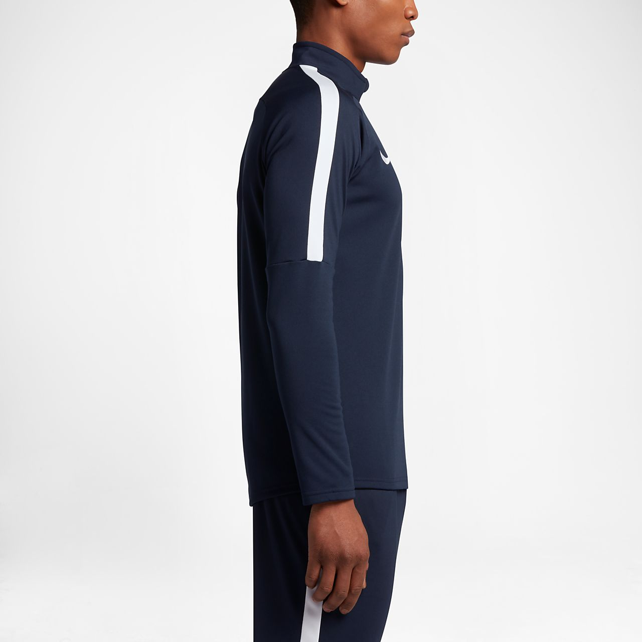 1453d4679a909 ... Nike Dri-FIT Academy Camiseta de fútbol de entrenamiento con cremallera  de 1 4